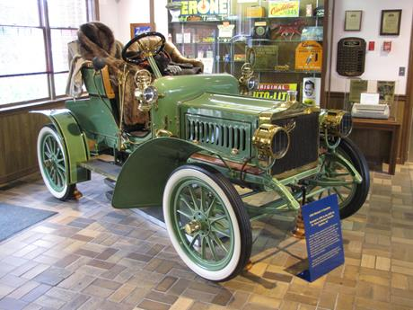 Antique Car Display Photo