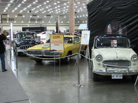 Event Photo: Antique Car Display